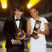 Ballon d'or 2010 : Lionel Messi réalise un prodigieux doublé !