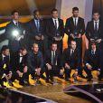 Lionel Messi, déjà consacré par le Ballon d'or 2009, réalise le doublé en décrochant, à 23 ans, le Ballon d'or 2010, qui lui a été remis le 10 janvier 2011 à Zürich.