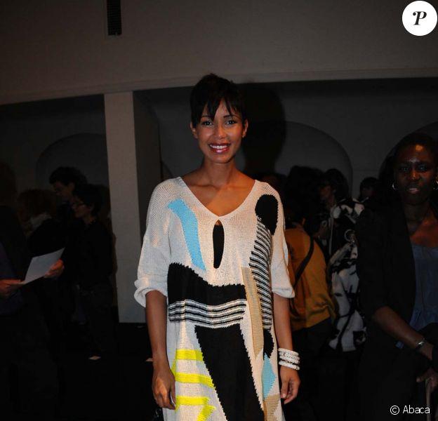 """Sonia Rolland est attendue au concert """"Haïti Debout"""", au palais des congrès de la porte maillot à Paris, le 4 février 2011"""