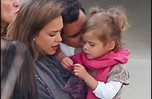 Jessica Alba : Superbe avec son mari et sa fille pour un remariage en famille !