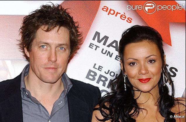 Hugh Grant et Martine McCutcheon en novembre 2003