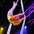 Seconde soirée du 35 festival international du cirque de Monte-Carlo, le vendredi 21 janvier.