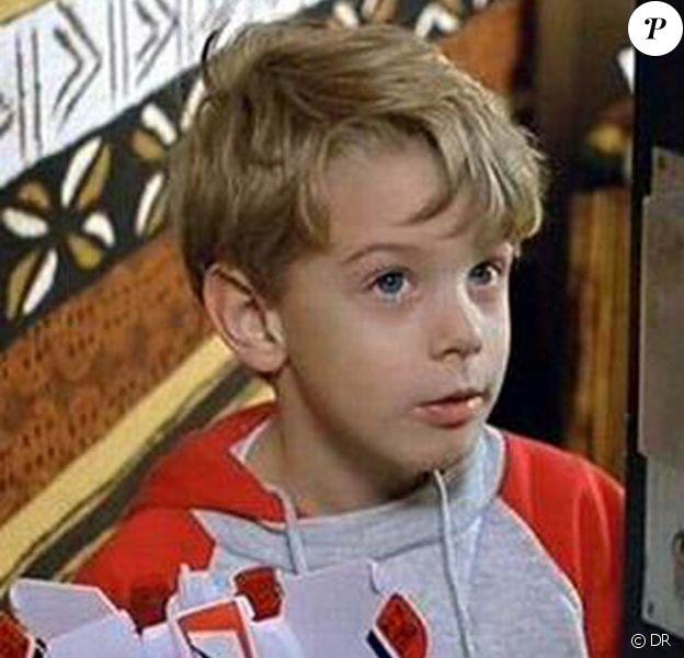 Le comédien Antoine du Merle, à l'époque des Trois frères, âgé de 7 ans.