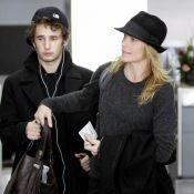 Robin Wright : Complice avec son fils et sans maquillage, elle est superbe !