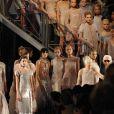 Défilé Haute-Couture Chanel printemps-été 2011 durant la Fashion Week parisienne, le 25 janvier 2011.