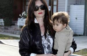 PHOTOS : Paz Vega fait son shopping en famille...