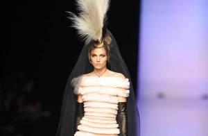 Fashion Week - Gaultier : Un homme en mariée et Farida Khelfa sur le podium !