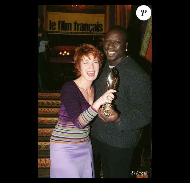 Mouss Diouf aux côtés de son amie Véronique Genest
