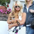 Paris Hilton à Los Angeles, le 25 janvier 2011.