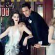 Anne Hathaway pour Vanity Fair