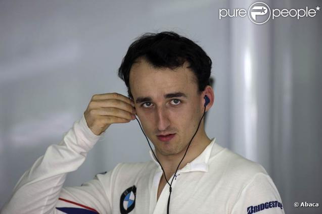 Robert Kubica victime d'un grave accident lors d'un rallye près de Gênes, en Italie, le 6 février 2011.