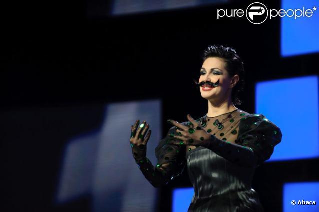 Helena Noguerra lors de la remise des Magritte du cinéma à Bruxelles le 5 février 2011