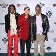 Earth, Wind and Fire au concert de charité des Black Eyed Peas, à The Music Box, à Los Angeles, le 10 février 2011