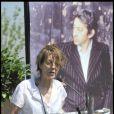 Jane Birkin, ex-compagne de  Gainsbourg