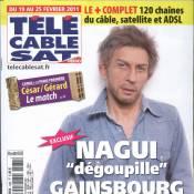 Nagui, grimé en Serge Gainsbourg... Un hommage original !