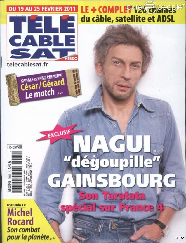 Nagui grim en serge gainsbourg un hommage original - Tele cable sat ...