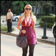 Paris Hilton à Los Angeles, le 1er février 2011.