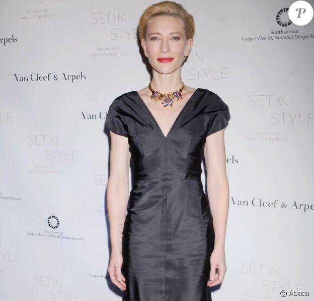 Cate Blanchett lumineuse lors de la soirée Set in Style de New York le 16 février 2011