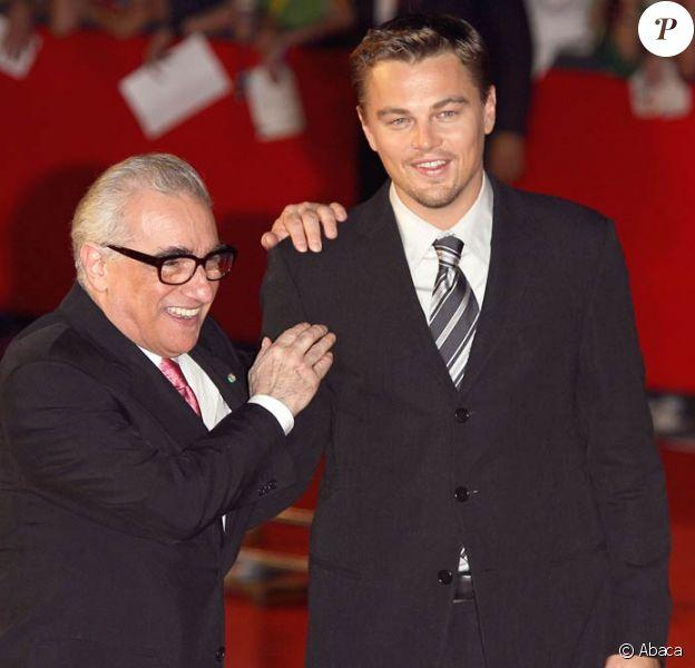 Leonardo DiCaprio retrouve Martin Scorsese pour la cinquième fois à l'occasion du tournage de The Wolf of Wall Street !