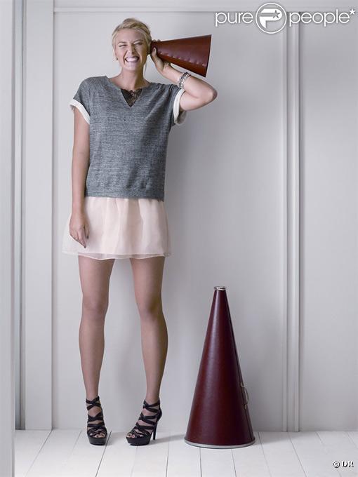 Maria Sharapova égérié de la marque Cole Haan, pour la collection printemps-été 2011.