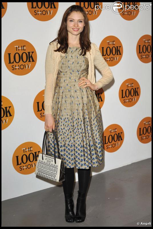 Sophie Ellis-bextor au défilé LOOK durant la Fashion Week de Londres, le 18 février 2011.