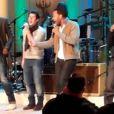 John Legend, Seal, Nick Jonas et Jamie Foxx en pleine répétition avant le grand show devant les Obama