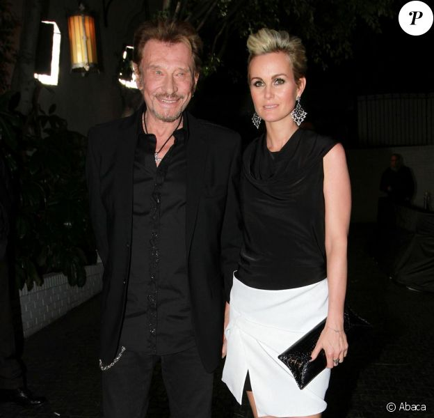 Johnny et Laeticia Hallyday à Los Angeles