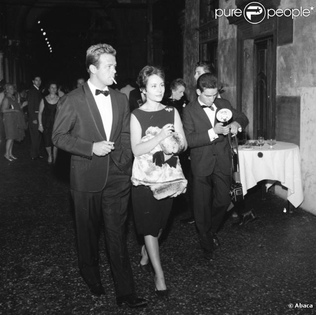 Annie Girardot et Renato Salvadori en 1962