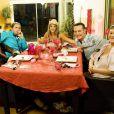 Eve Angeli dans Un dîner presque parfait, diffusé la semaine du 14 mars