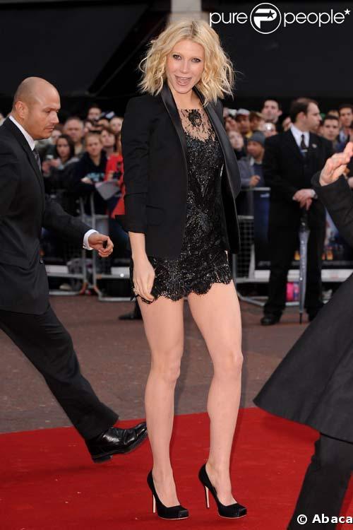 Gwyneth Paltrow à la première londonienne d\u0027Iron Man,
