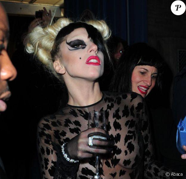 Lady Gaga, mercredi 2 mars, à Paris, à l'occasion de sa venue pour la Fashion Week française.
