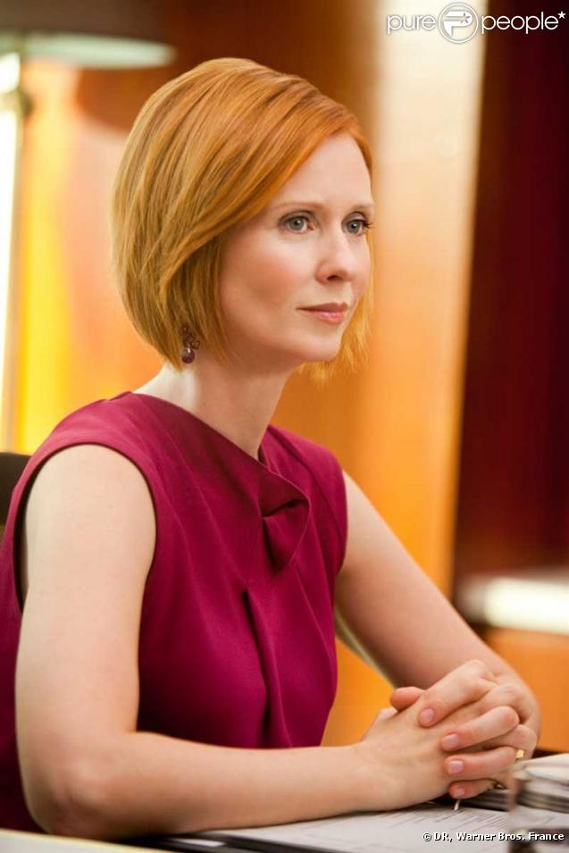 cynthia nixon dans sex and the city elle y joue miranda hobbes une femme qui jongle entre sa. Black Bedroom Furniture Sets. Home Design Ideas