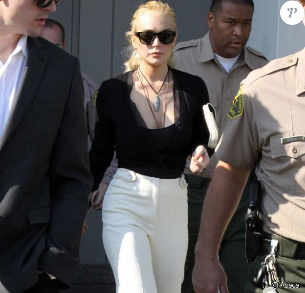 Lindsay Lohan, tribunal de Los Angeles, le 23 février 2011