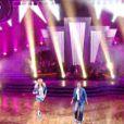 Adriana Karembeu et Julien dans Danse avec les stars