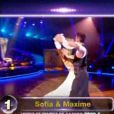 Sofia Essaïdi et Maxime dans Danse avec les stars