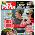 Couverture d'Ici Paris en kiosques le 15/3