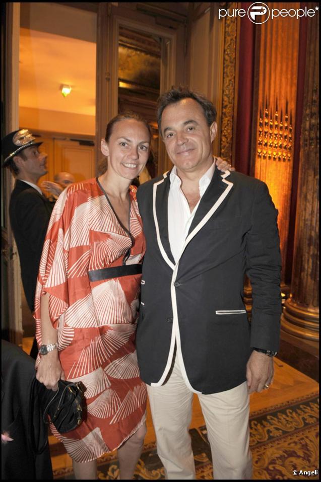 Marc Rioufol et sa femme Gabriella Cortese