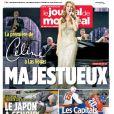 Céline Dion en couverture du  Journal de Montréal , le 16 mars 2011
