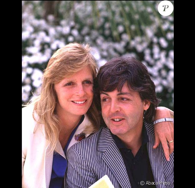 Paul et Linda McCarteny en 1980