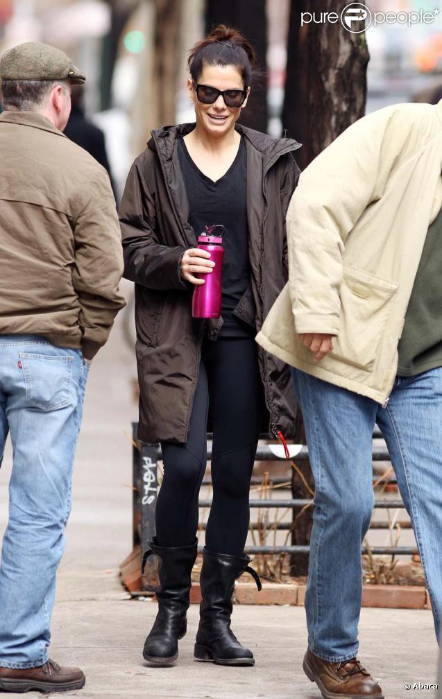 Sandra Bullock, New York, le 16 mars 2011