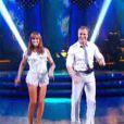 David Ginola et Silvia dans Danse avec les stars