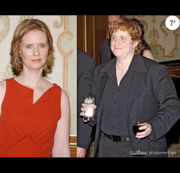 Cynthia Nixon et sa compagne Christine Marinoni
