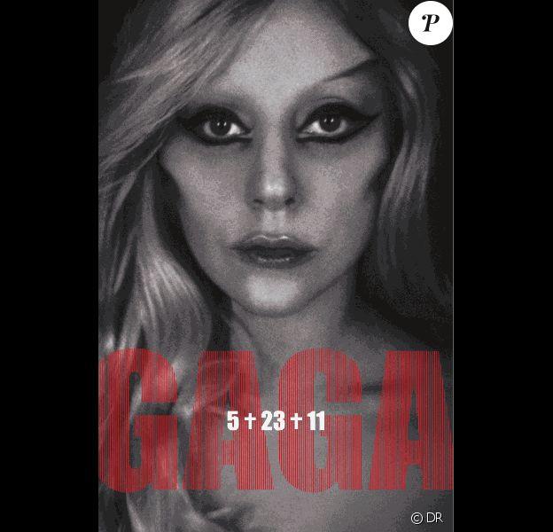 Lady Gaga pour l'album Born This Way, mars 2011