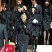 Albert, Charlene et le tout-Monaco unis dans le deuil pour l'adieu à Antoinette...
