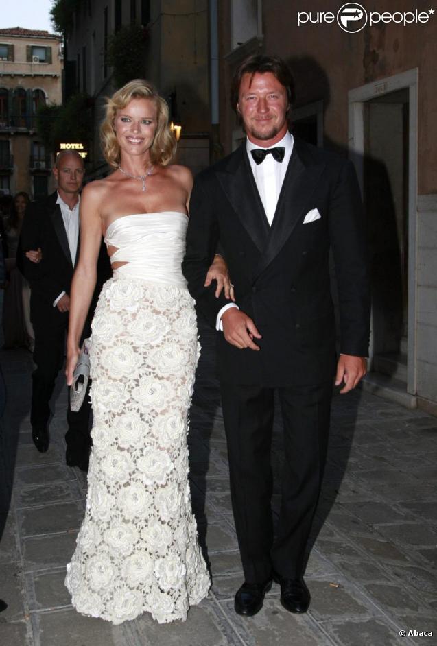 Eva herzigova est maman pour la seconde fois - Michael gregorio en couple ...