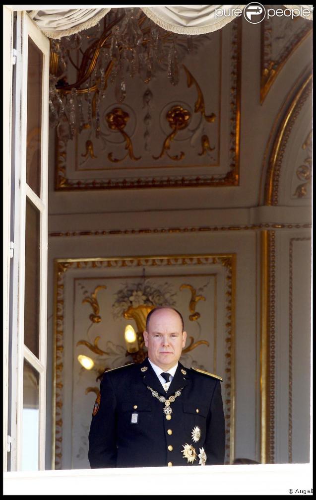 Albert de Monaco en novembre 2010, à Monaco.