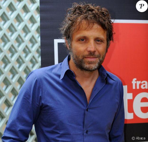Stéphane Guillon à la conférence de presse annuelle de France Inter en août 2009