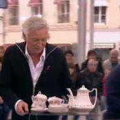 Laurent Boyer glisse et brise 5 000 euros de vaisselle prêtée par une invitée...