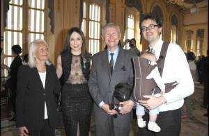 Elsa Zylberstein décorée devant sa famille et ses proches amis !