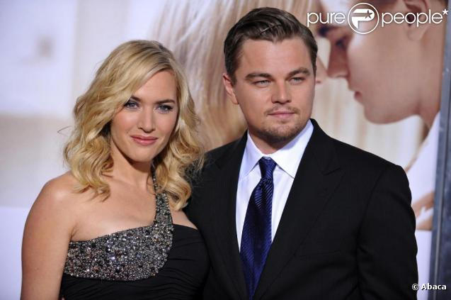 Kate Winslet et Leonardo DiCaprio en décembre 2008, pour promouvoir Noces Rebelles, de Sam Mendes.